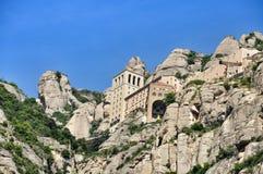 Montañas Montserrat Fotografía de archivo