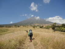Montañas muy hermosas para la aventura Foto de archivo libre de regalías