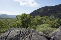 Montañas negras, Cooktown, Australia Foto de archivo libre de regalías