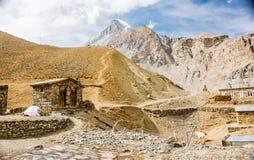 Montañas, Nepal Foto de archivo libre de regalías