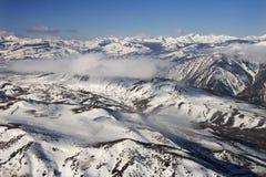 Montañas nevadas. Imágenes de archivo libres de regalías