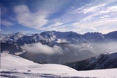 Montañas Nevado Imagen de archivo libre de regalías
