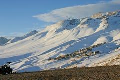 Montañas Nevado Fotografía de archivo libre de regalías