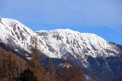MONTAÑAS NEVADO austria Fotos de archivo