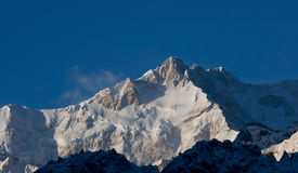 Montañas Nevado de Tíbet Foto de archivo libre de regalías