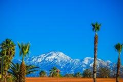 Montañas nevosas de Los Ángeles Foto de archivo libre de regalías