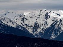 Montañas olímpicas Imagenes de archivo