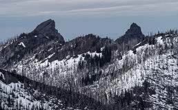 Montañas olímpicas Foto de archivo
