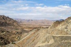 Montañas Omán Fotos de archivo libres de regalías