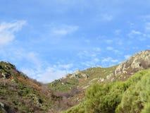 Montañas panorama, Provence, Francia de Ardèche Imágenes de archivo libres de regalías