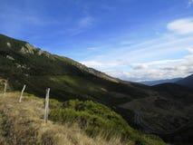 Montañas panorama, Provence, Francia de Ardèche Foto de archivo libre de regalías