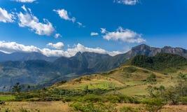 Montañas peruanas Imagen de archivo libre de regalías