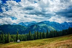 Montañas polacas imágenes de archivo libres de regalías