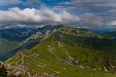 Montañas polacas de Tatra. Fotos de archivo libres de regalías