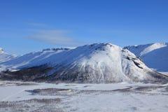 Montañas polares Fotos de archivo