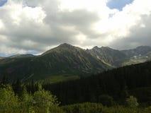 Montañas Polonia Zakopane de Tatra Fotos de archivo libres de regalías