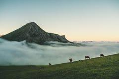 Montañas por sus los propio imagenes de archivo