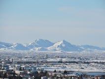 Montañas Rekyjavik Islandia Imagen de archivo