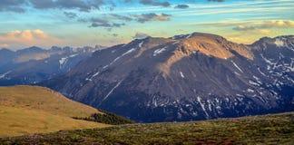Montañas rocosas Imágenes de archivo libres de regalías