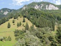Montañas rocosas Imagen de archivo libre de regalías