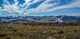 Montañas rocosas asombrosas Foto de archivo