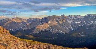 Montañas rocosas asombrosas Imagen de archivo