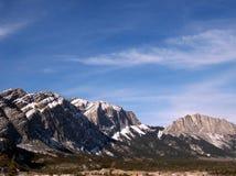 Montañas rocosas canadienses Fotos de archivo