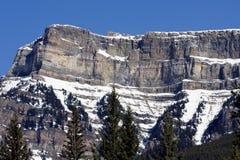 Montañas rocosas canadienses Imágenes de archivo libres de regalías
