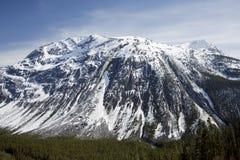 Montañas rocosas canadienses Imagen de archivo libre de regalías