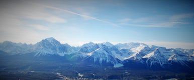 Montañas rocosas canadienses, parque nacional de Banff, Alberta, Canadá Fotografía de archivo