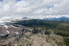 Montañas rocosas de Colorado Fotografía de archivo libre de regalías