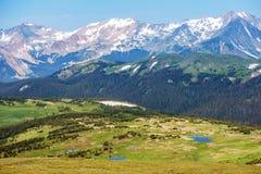 Montañas rocosas de Colorado Foto de archivo