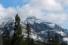 Montañas rocosas en Columbia Británica Foto de archivo