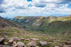 Montañas rocosas máximas de Colorado de los lucios fotografía de archivo
