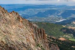 Montañas rocosas máximas de Colorado de los lucios foto de archivo libre de regalías