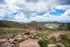 Montañas rocosas máximas de Colorado de los lucios fotografía de archivo libre de regalías