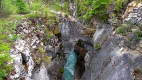Montañas rocosas, parque nacional de Banff, Canadá fotografía de archivo
