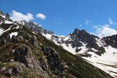 Montañas rugosas de Rize, Turquía fotografía de archivo