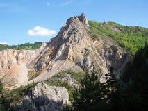 Montañas rumanas imagen de archivo