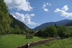 Montañas rumanas fotografía de archivo