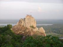 Montañas salvajes Foto de archivo libre de regalías