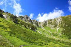 Montañas Senjyojiki Carl de Japón Fotos de archivo