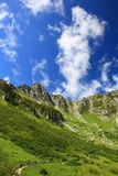 Montañas Senjyojiki Carl de Japón Imagenes de archivo