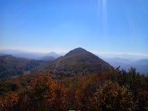 Montañas servias foto de archivo libre de regalías