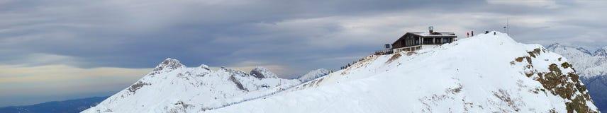 Montañas, Sochi Olimpiad-2014 Fotos de archivo libres de regalías