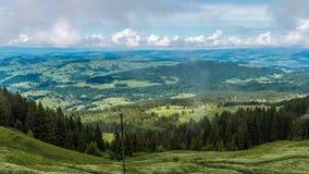 Montañas Suiza Timelaps almacen de video
