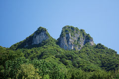 Montañas suizas fotografía de archivo