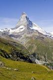 Montañas suizas Foto de archivo libre de regalías