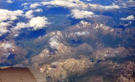 Montañas suizas Fotos de archivo libres de regalías