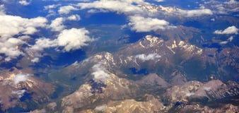 Montañas suizas Fotografía de archivo libre de regalías